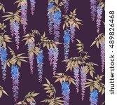 seamless watercolor pattern ...   Shutterstock . vector #489826468