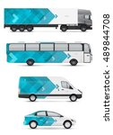 vehicles for advertising and... | Shutterstock .eps vector #489844708