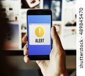 Small photo of Alert Notification Exclamation Point Graphic Concept