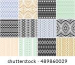 Seamless Vector Ethnic Texture...