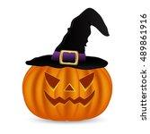 Wicked Pumpkin For Halloween I...