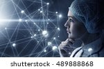 innovative technologies in... | Shutterstock . vector #489888868