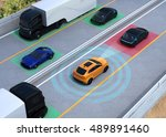 concept illustration for auto... | Shutterstock . vector #489891460