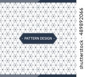 pattern design | Shutterstock .eps vector #489892066