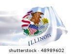 illustration of illinois state...   Shutterstock . vector #48989602