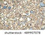 gravel stone texture | Shutterstock . vector #489907078