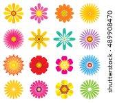 flower   illustration | Shutterstock .eps vector #489908470