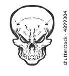 evil skull   Shutterstock .eps vector #4899304