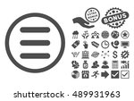 menu pictograph with bonus...