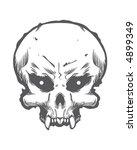skull   Shutterstock .eps vector #4899349