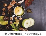 Composition Of Autumn Leaves ...