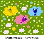seamless floral bird pattern | Shutterstock . vector #48995056