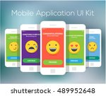 five mobile application smiles...