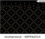 neck line embellishments flower ...   Shutterstock .eps vector #489966514