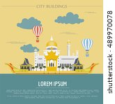 City Buildings Graphic Templat...