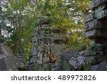 Cambodia Angkor Thom Ta Phrom K