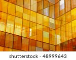 yellow window reflection | Shutterstock . vector #48999643