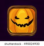 halloween game icon. happy...