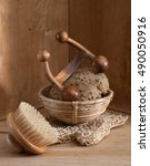 hammam  turkish bath or sauna... | Shutterstock . vector #490050916