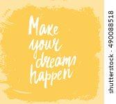 conceptual hand drawn phrase... | Shutterstock .eps vector #490088518