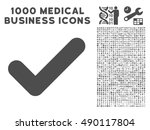 gray yes icon with 1000 medical ...
