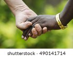 peace for everybody  stop... | Shutterstock . vector #490141714