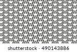 owl.bright pattern of birds...   Shutterstock .eps vector #490143886
