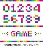 vector stylized figures of full ...   Shutterstock .eps vector #490147774