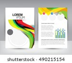 business brochure | Shutterstock .eps vector #490215154