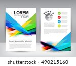 business brochure | Shutterstock .eps vector #490215160