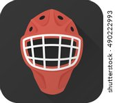 vector illustration. toy hockey ...