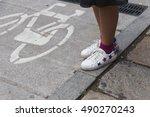 milan  italy   september 22 ...   Shutterstock . vector #490270243