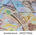 money thai baht  | Shutterstock . vector #490277806