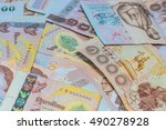 money thai baht  | Shutterstock . vector #490278928