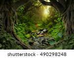 Deep Tropical Jungles With River