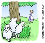 Little Bo Peep Searches For He...