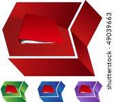 book binder | Shutterstock .eps vector #49039663