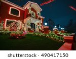 brooklyn  new york   december...   Shutterstock . vector #490417150