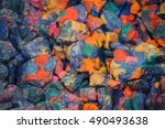 abstract background of the... | Shutterstock . vector #490493638
