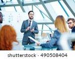 financial expert | Shutterstock . vector #490508404