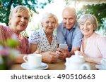 modern seniors   Shutterstock . vector #490510663