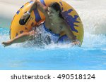 rhodes greek september 14 2016... | Shutterstock . vector #490518124