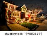 new york  brooklyn   december... | Shutterstock . vector #490538194