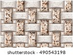 Wall Covering Tile Pattern...