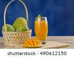 Mango Juice On Table