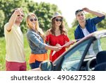 leisure  road trip  travel and... | Shutterstock . vector #490627528