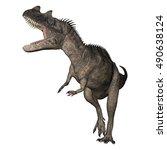 3d Rendering Of A Dinosaur...