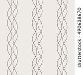geometric seamless pattern.... | Shutterstock .eps vector #490638670