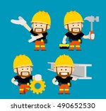 vector illustration   cartoon... | Shutterstock .eps vector #490652530