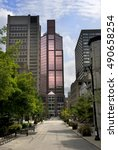 city view  montreal  quebec ... | Shutterstock . vector #490658254